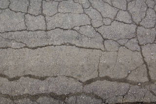 Damaged asphalt terrain 0018