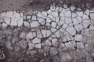 Damaged asphalt terrain 0019