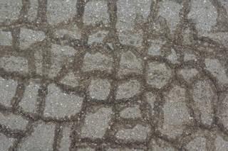 Damaged asphalt terrain 0027