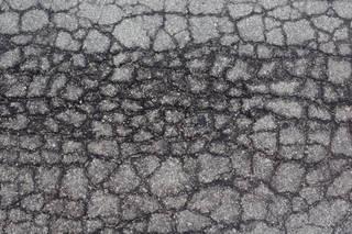 Damaged asphalt terrain 0032