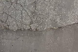 Damaged asphalt terrain 0033