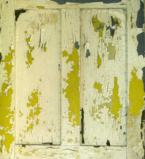 Painted and peeling wood 0007