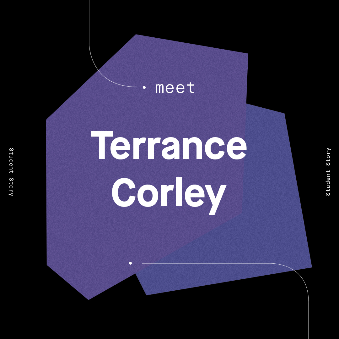Student Success Story: Terrance Corley