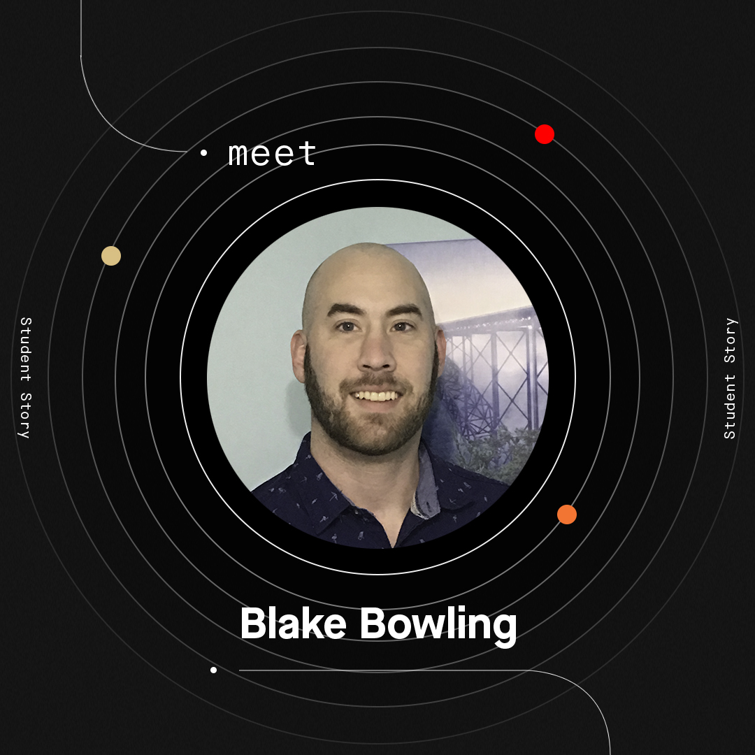 Meet Blake: A Student Studying Data Analytics