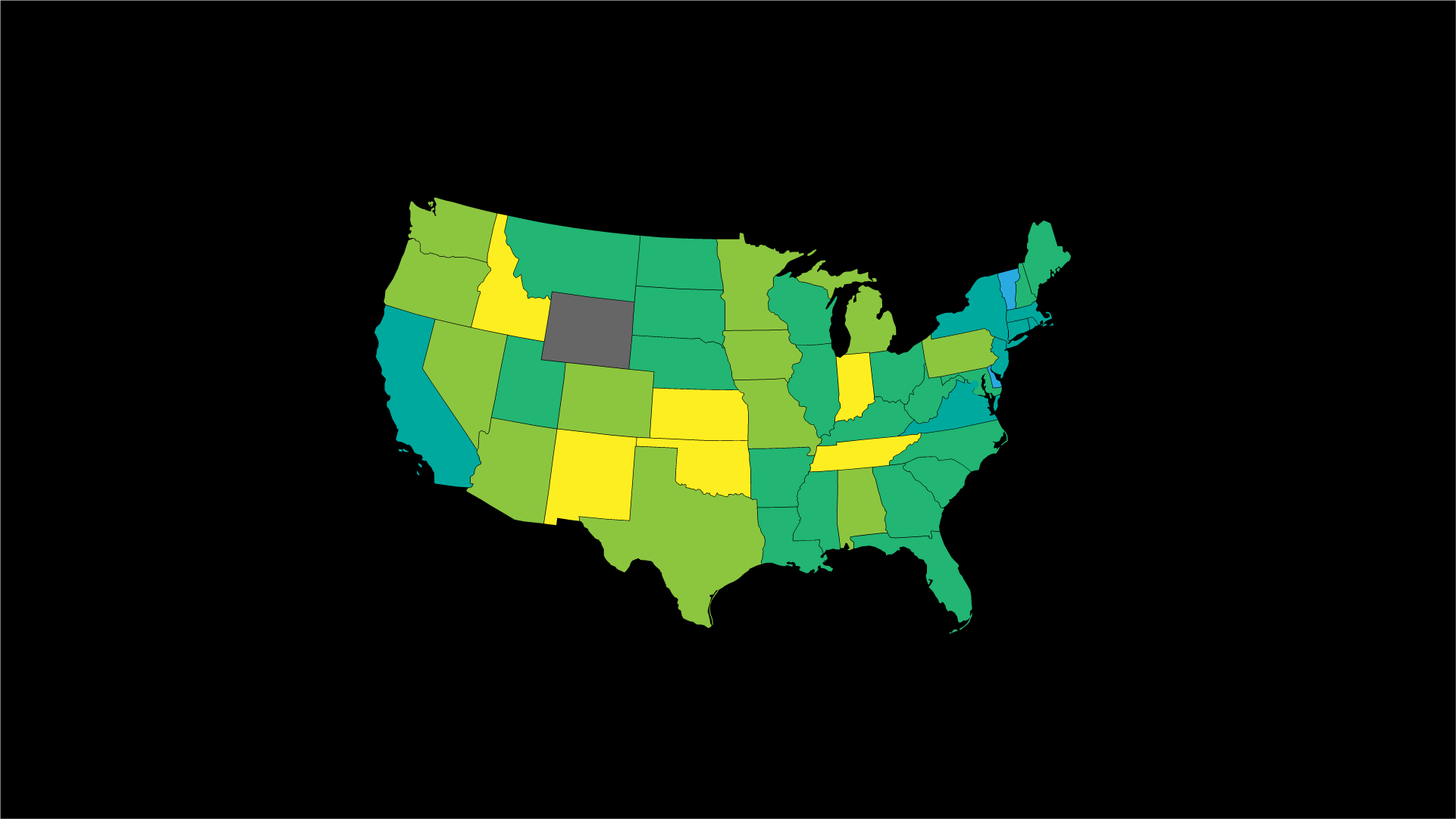 Average Data Analyst Salary by State