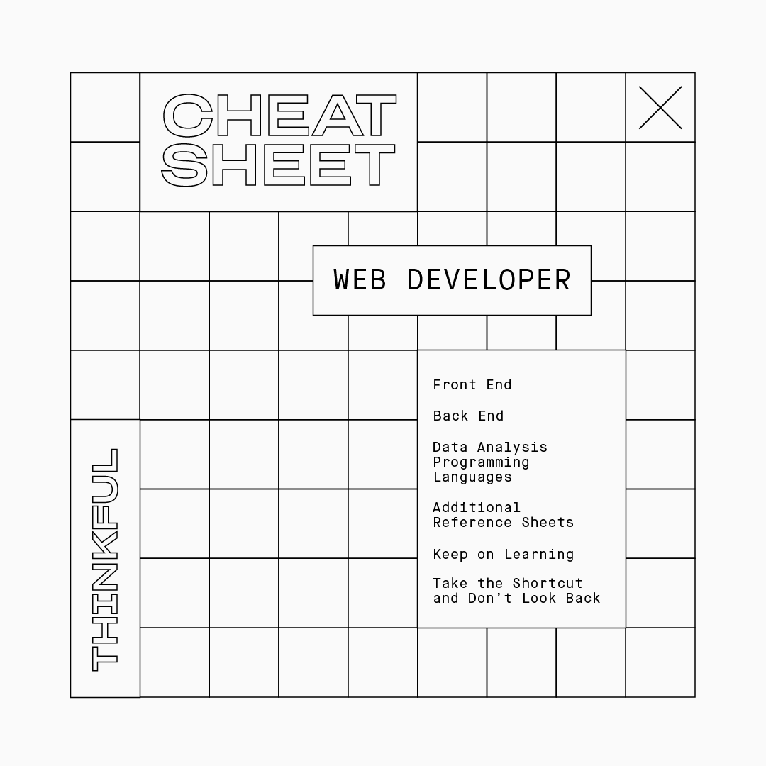 The Ultimate Cheat Sheet for Web Developers