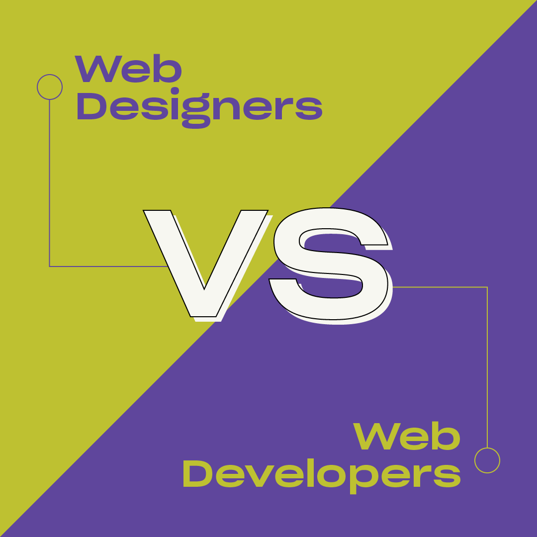 Web Designers vs. Web Developers
