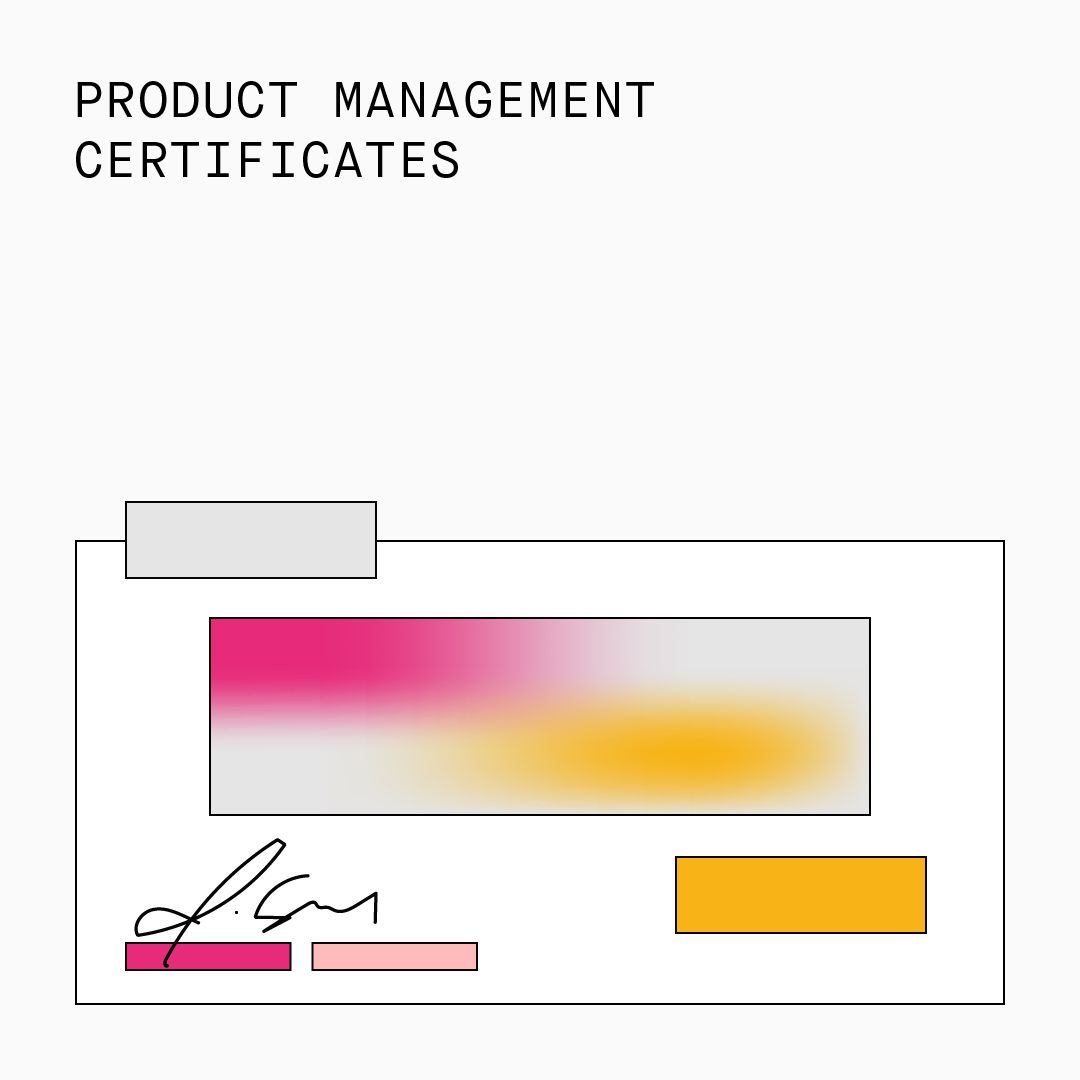 Product Management Certificates