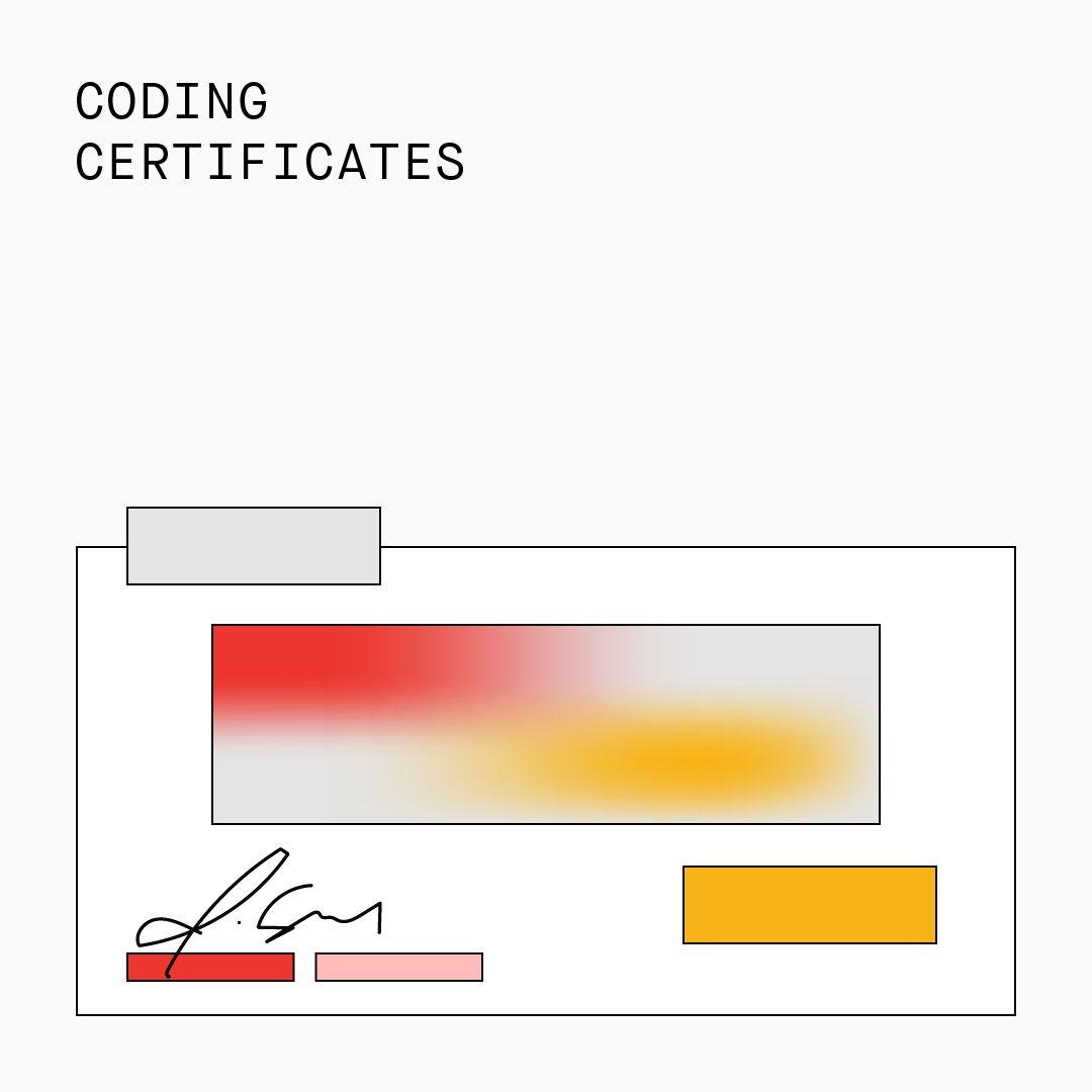 Coding Certificates