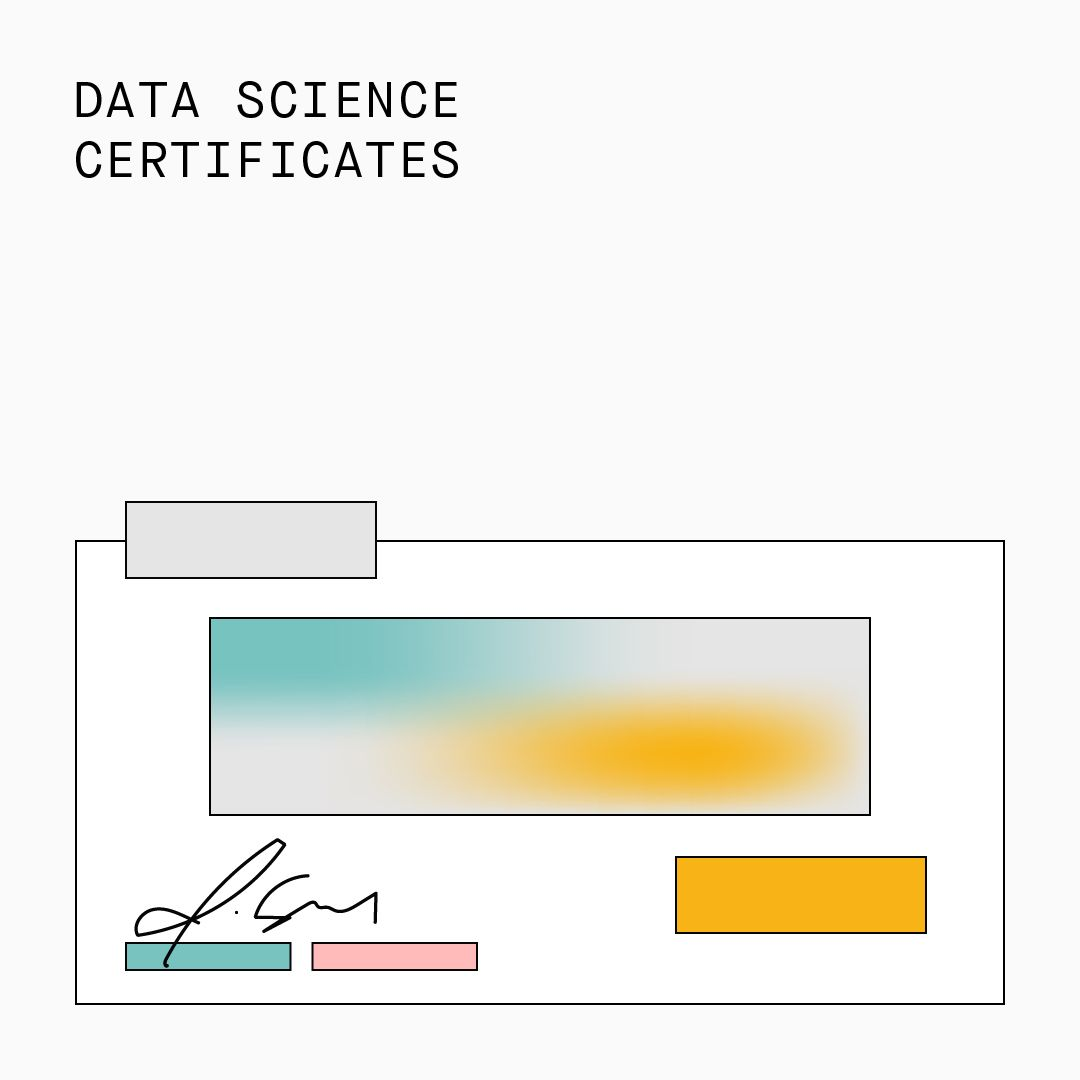Data Science Certificates