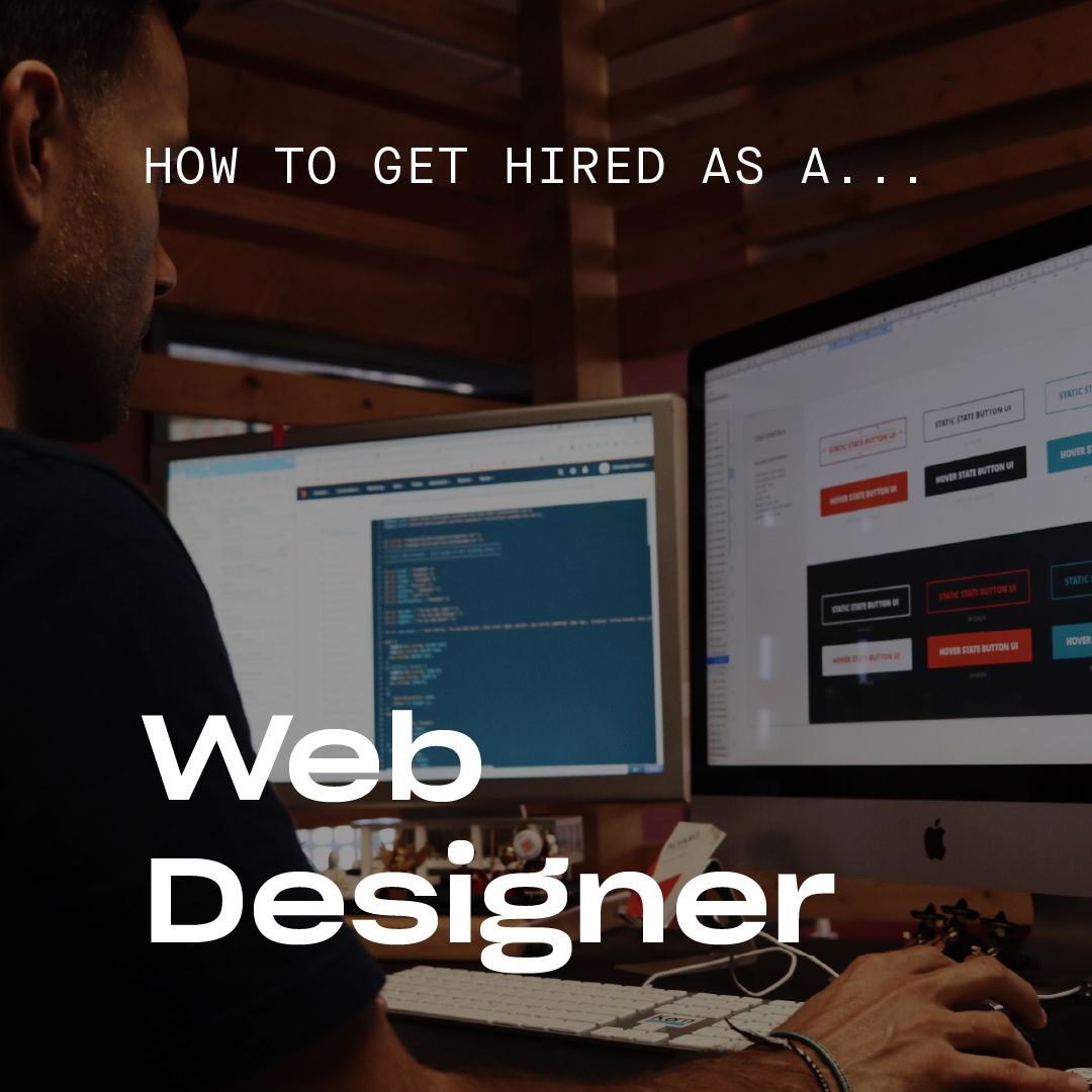 How to Get A Job As A Web Designer