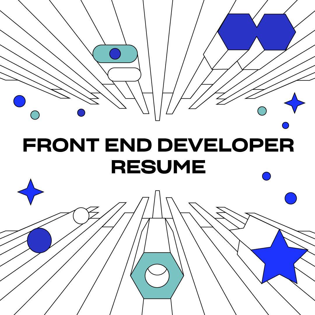 Front-End Developer Resume