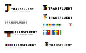 Transfluent logo history