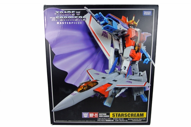 MP-11 - Masterpiece Starscream - MIB - 100% Complete