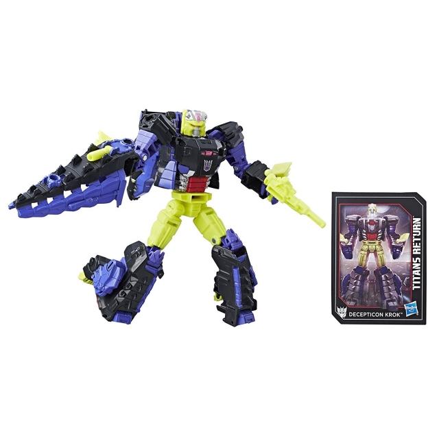 Deluxe Decepticon Krok and Gatorface | Transformers Titans Return