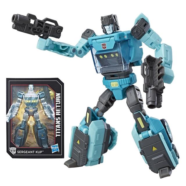 Deluxe Autobot Sergeant Kup and Flintlock | Transformers Titans Return