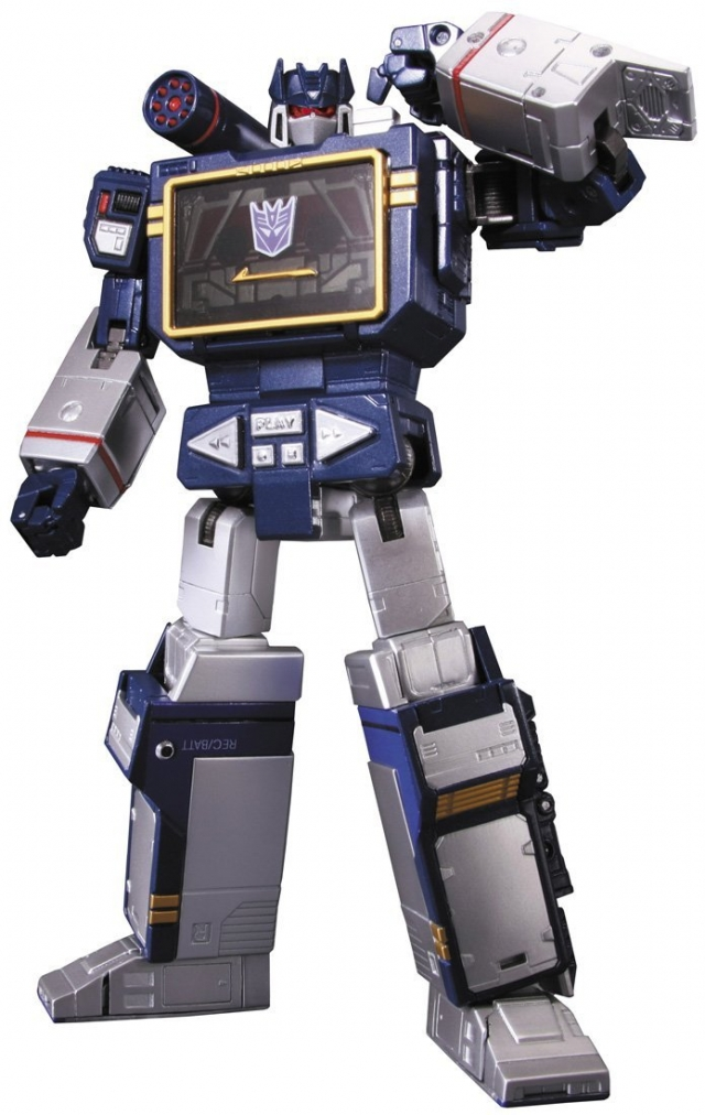 MP-13 Soundwave and Laserbeak | Transformers Masterpiece