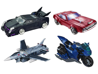 Transformers Prime Deluxe - Set of 4 - First Edition