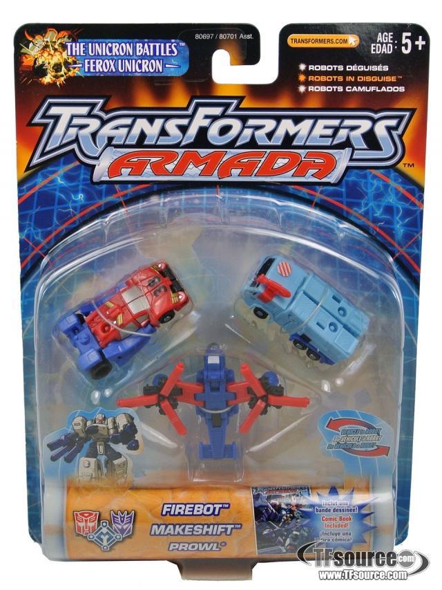 Armada - Emergency Recolor Mini-Con Team - MOSC