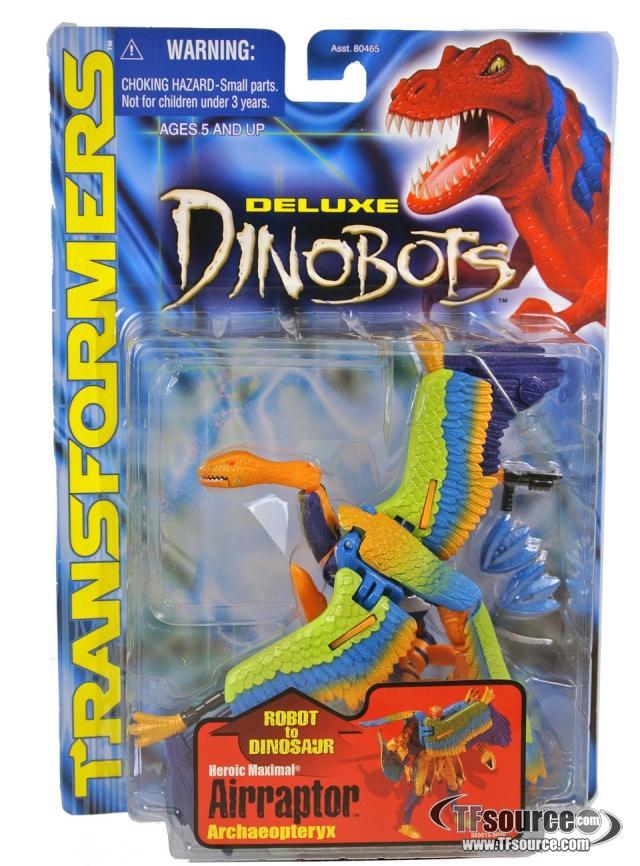 Beast Machines - Deluxe Dinobots - Airraptor - MOSC