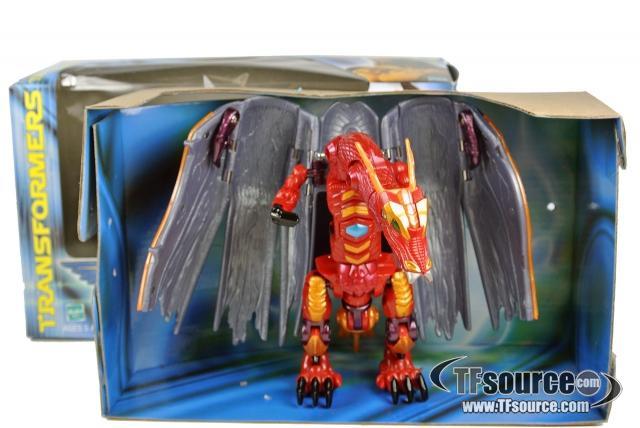 Beast Machines - Megatron - MIB - 100% Complete