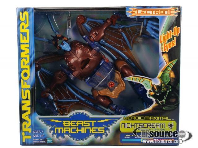 Beast Machines - Nightscream - MISB