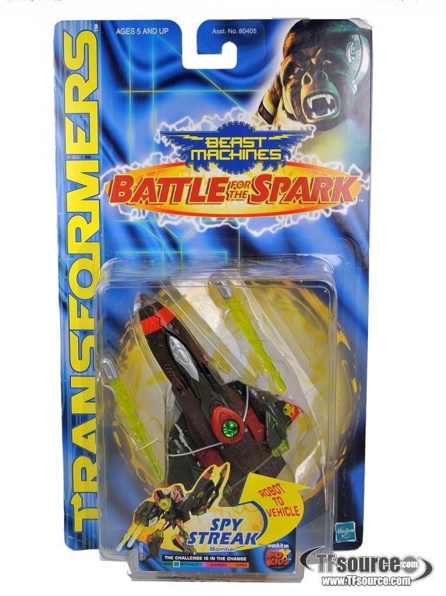 Beast machines - Battle For the Spark - Spy Streak - MOSC