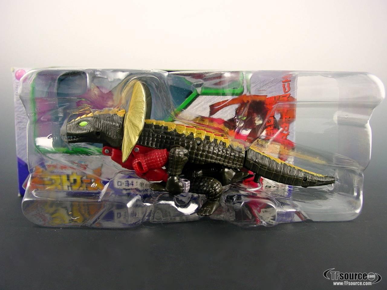Beast Wars Neo - D-34  Crazybolt - MIB - 100% Complete