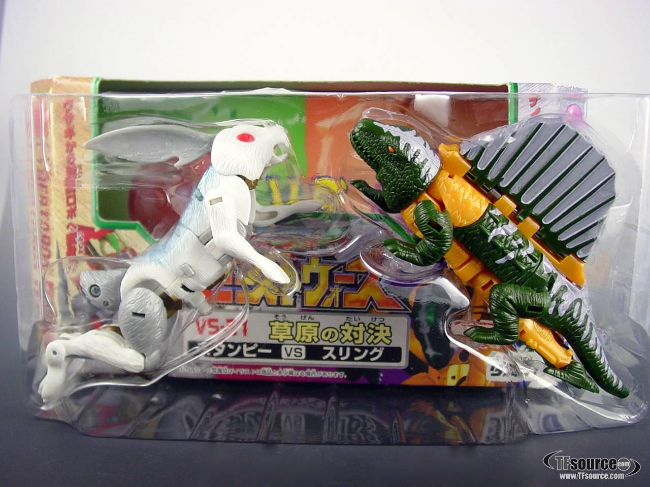 Beast Wars Neo - VS-31  Stampy VS Sling - MIB - 100% Complete