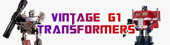 G1 Vintage Transformers