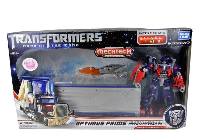 DOTM - DA-03 Optimus Prime with Mechtech Trailer - MIB - 100% Complete
