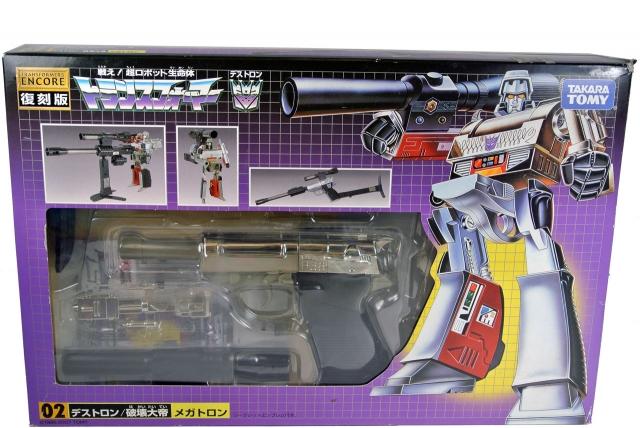 Encore - #02 Megatron - MIB - 100% Complete