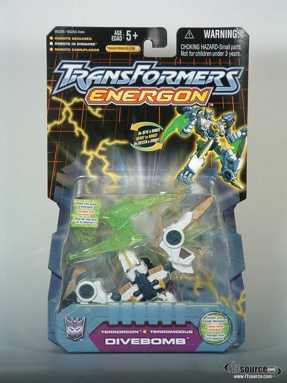 Energon - Divebomb - MOSC