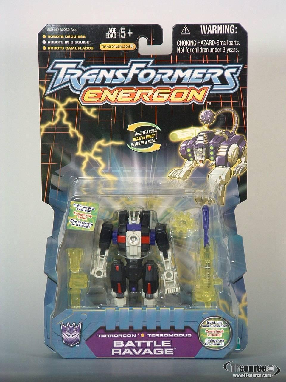 Energon - Battle Ravage - MOSC