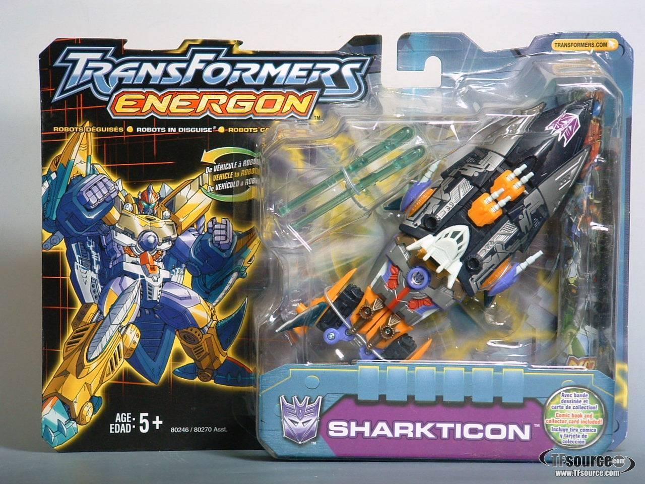 Energon - Sharkticon - MOSC