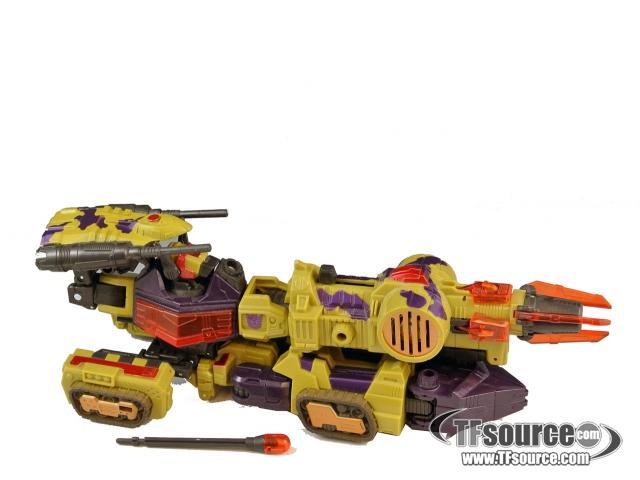 Energon - Six Shot - Loose - 100% Complete