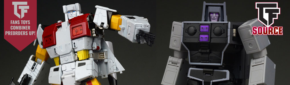 Fans Toys Combiners Now Up for Preorder!Two highly anticipated Fans Toys Masterpiece combiner preorders were just announced and up for preorder!  Preorder yours at TFSource today!