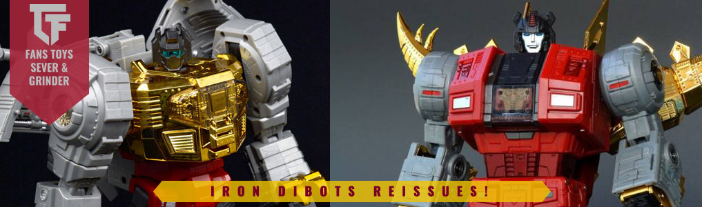 Fans Toys Grinder & Sever Preorders Up!Don't miss out on two of the most popular Fans Toys releases ever, lock in your preorder at TFSource today!