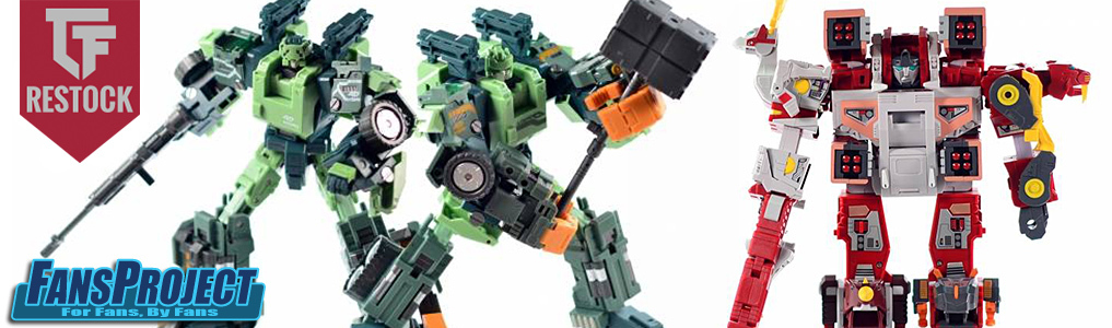 Fansproject Restock Including FP Core & Convention Exclusives!We've picked up a restock on many old and out of stock fansproject items, including convention and core exclusives and more to come next week, even the mighty glacial lord: Check it out!