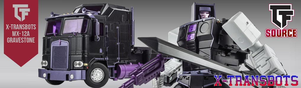 X-TRANSBOT MX-12A GRAVESTONE INSTOCK NOW!
