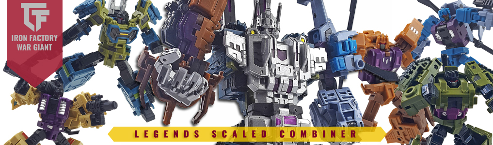 Iron Factory's War Giant Combiner Set Instock!!All 3 sets of legends scaled War Giant by Iron Factory are now instock.  Order yours at TFSource today!
