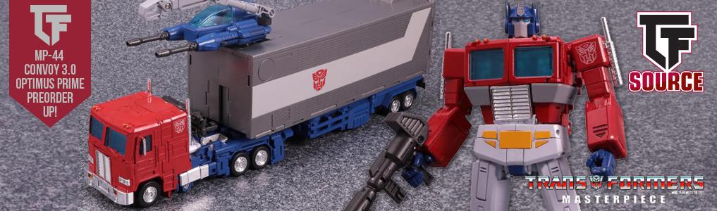 Transformers Masterpiece MP-44 Optimus Prime Instock!
