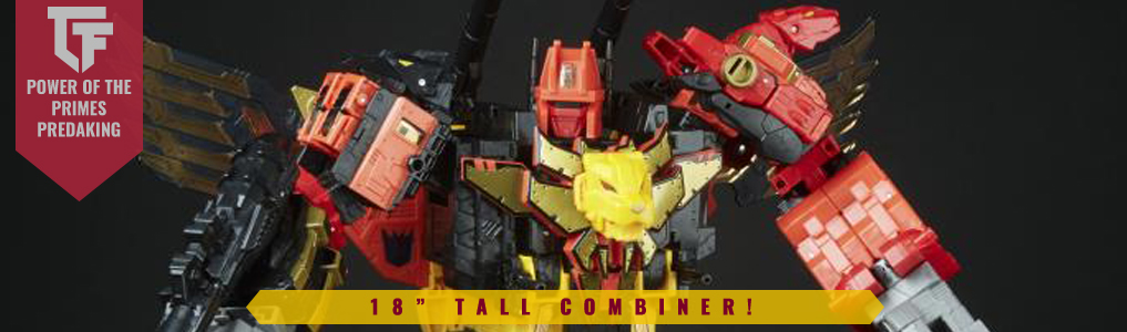 POTP Predaking Now Up for Preorder!Hasbro's Predaking from G1 glory is reborn in the Power of the Prime line.  Preorder yours at TFSource today!