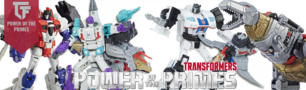 Hasbro's Power of the Prime Now Instock! The next popular Transformers line is now instock and up for prerorder!  Deluxe and Masters are instock and ready to ship, Voyager and more Legends scheduled for a December release date!