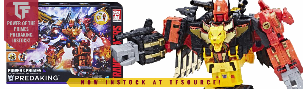 POTP Predaking Now INstock!Hasbro's Predaking from G1 glory is reborn in the Power of the Prime line. Order yours at TFSource today!