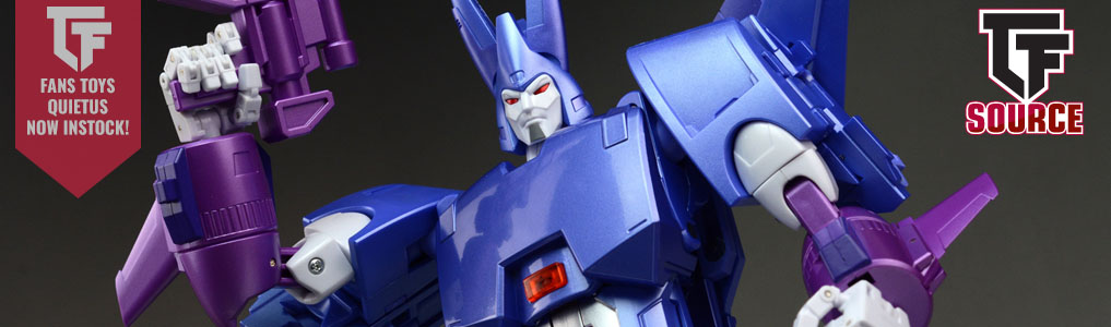 FT-29 Quietus Now Instock!This long awaited figure next in line from Fans Toys is now released!  Add him to your 3rd Party/Fans Toys Masterpiece scaled figure collection today at TFSource!