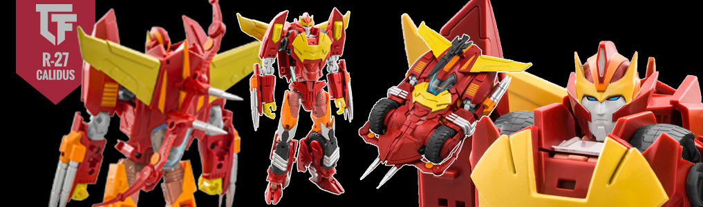 Now Instock MMC's R-27 Calidus!Order today and lock in a free bonus gift only available with the first release!  Pick up the next amazing piece by MMC today at TFSource!