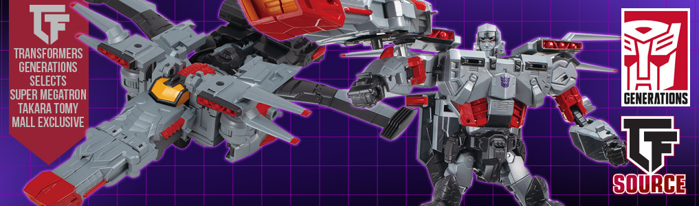 TRANSFORMERS GENERATIONS SELECTS SUPER MEGATRON | TAKARA TOMY MALL EXCLUSIVE!