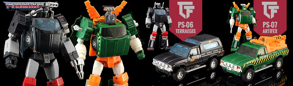 New Preorders up from MMC - Artifex and Terraegis!These MP Scaled trucks are now up for preorder as well as Girder.  Preorder yours at TFSource today!