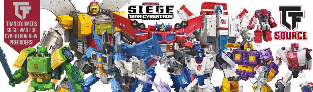 Transformers Seige War for Cybertron Preorders Up!